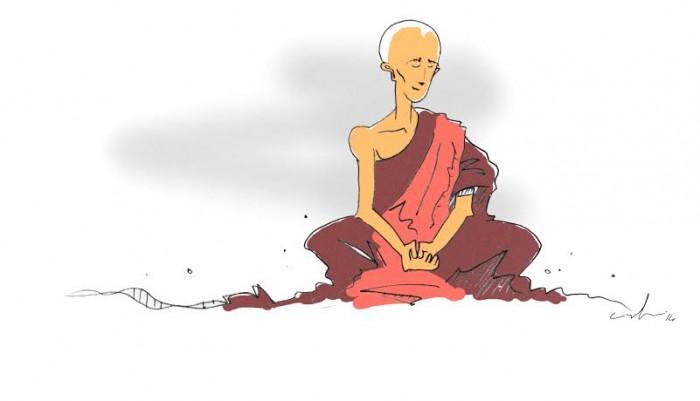 ian lawton original illustration