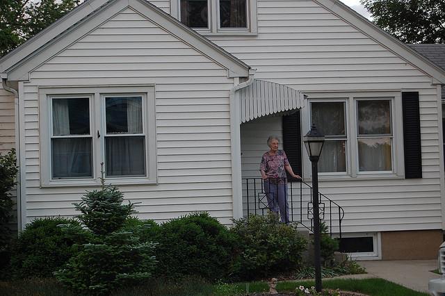 lonely grandma