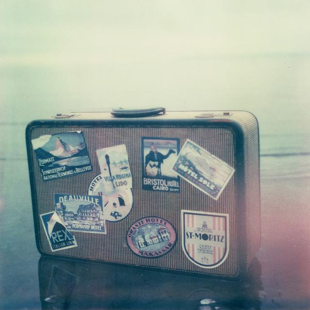 suitcase travel adventure