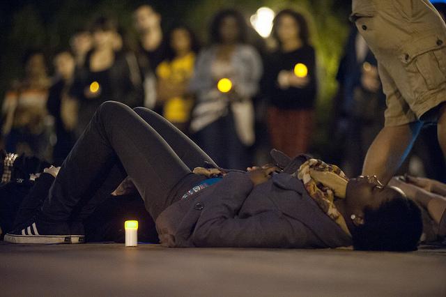 vigil for slain