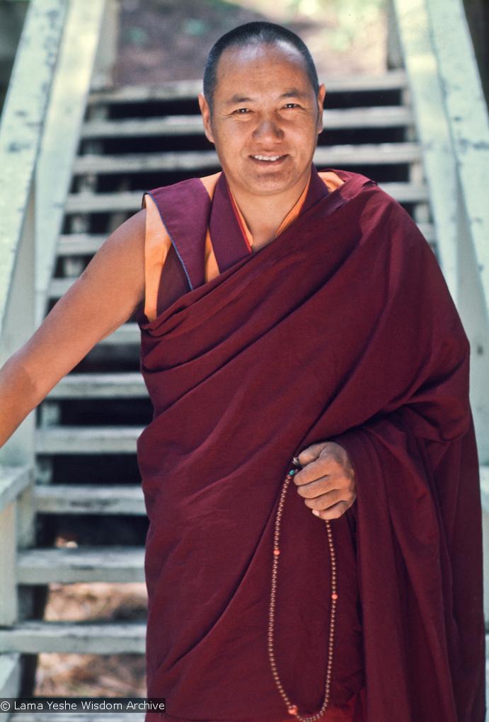 Lama Yeshe, Lake Arrowhead, 1975