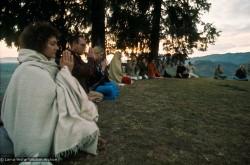 Meditating on Kopan Hill, 1971