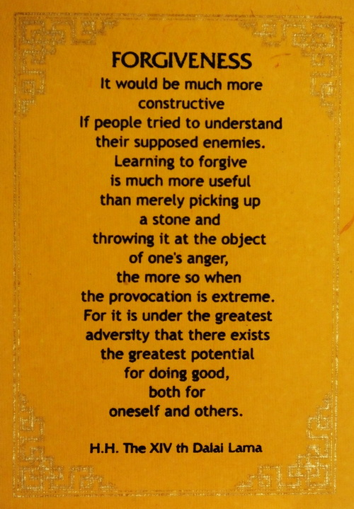 On Ending Violence with (Inner) Peace: Quotes from the Dalai