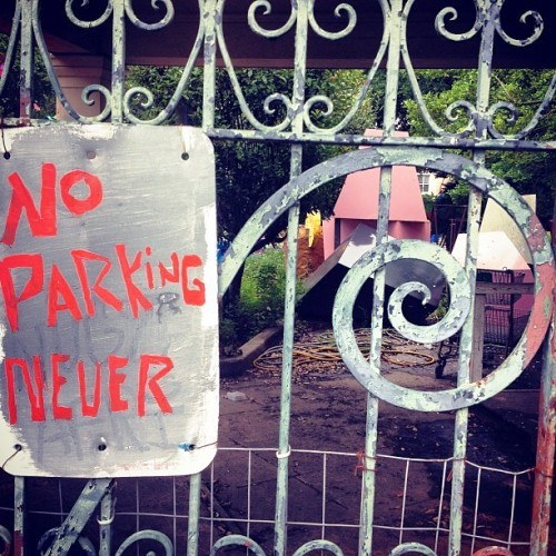 Evelyn Bradford noparkingnever