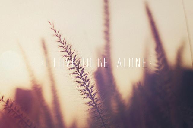 alone quote