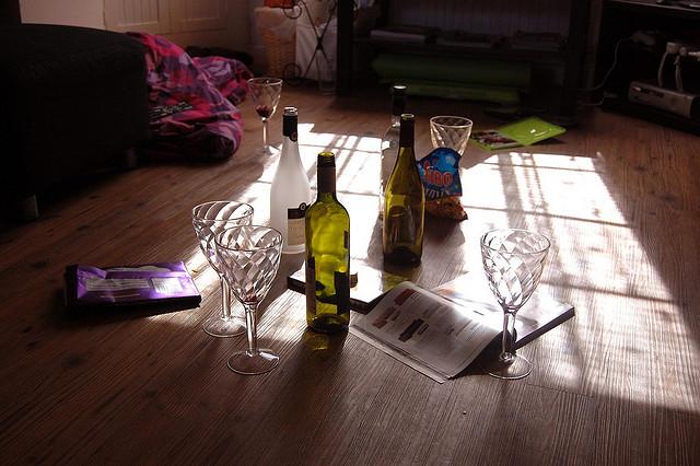 girls night aftermath