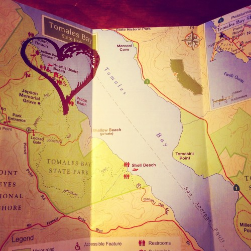 Point Reyes map