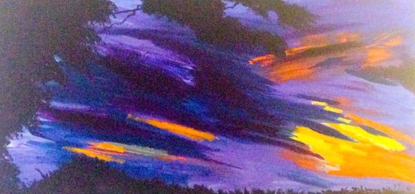 Marci Stern painting