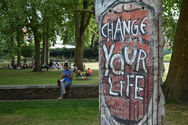 Change your life - Berlin Wall segment