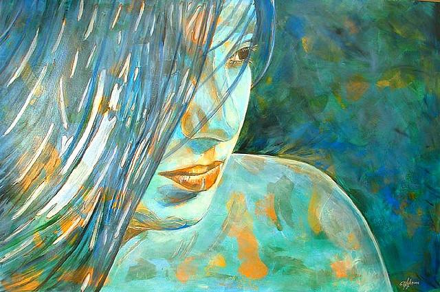 Adriana: Blue Goddess
