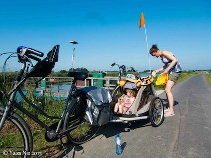 Bicycle trip in Holland