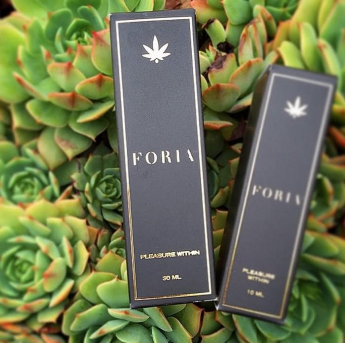 Foria pleasure packaging