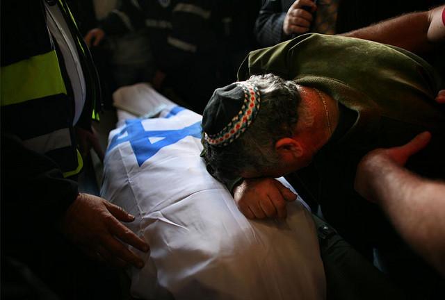 Israel Gaza man mourning