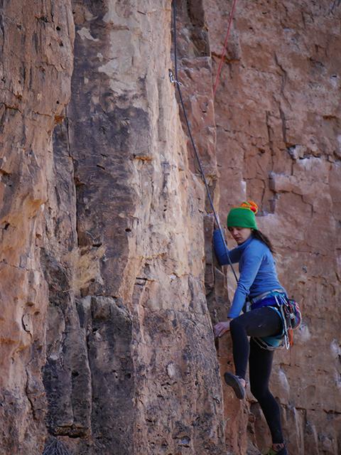 Jeanne-Climbing
