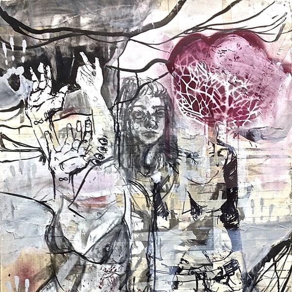 Artwork:  Zoie Reamer, Mixed Media