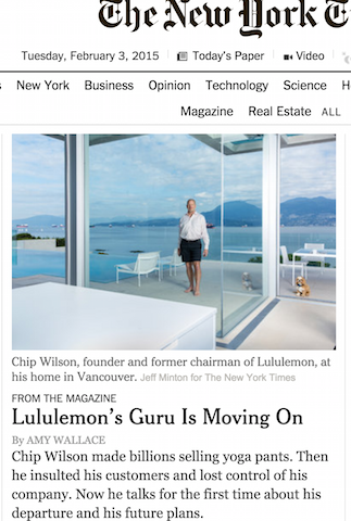 chip wilson quits times