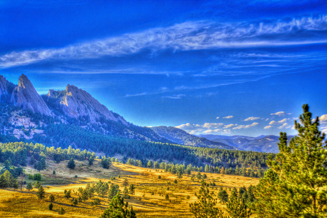 Boulder Flat Irons from NCAR HDR First Attempt