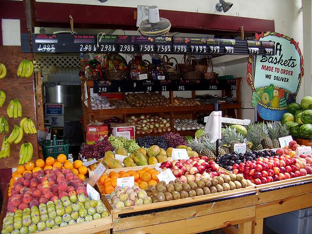 farmers market, local