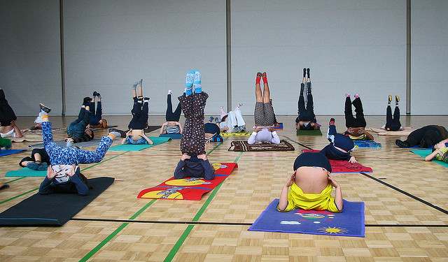 kids yoga, little kids