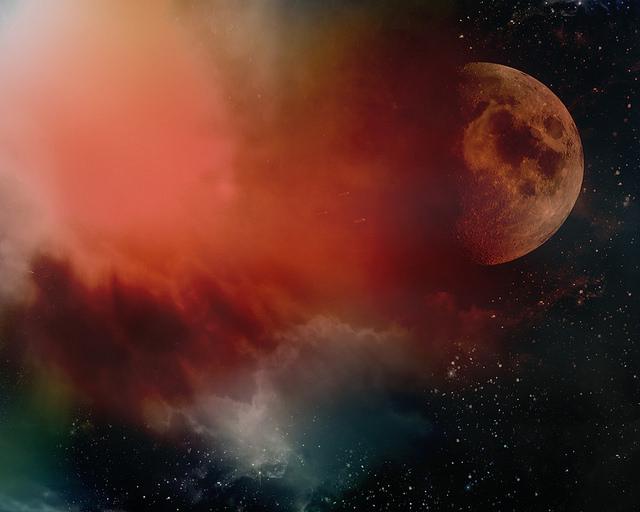 moon nebula
