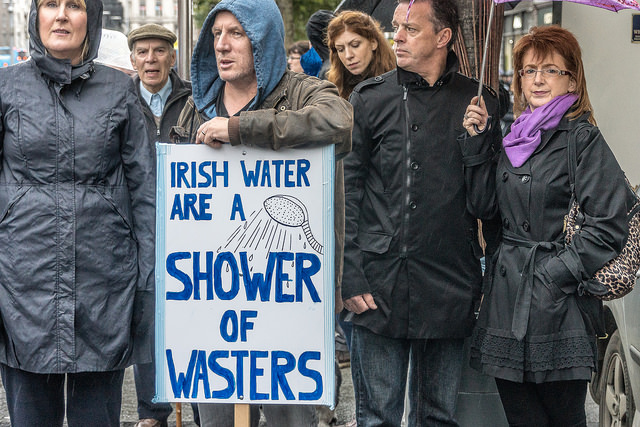 Irish Water protests
