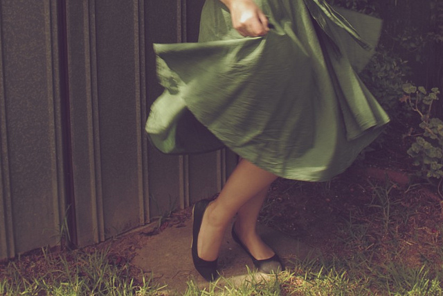 a flourish of fabric