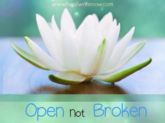 open not broken