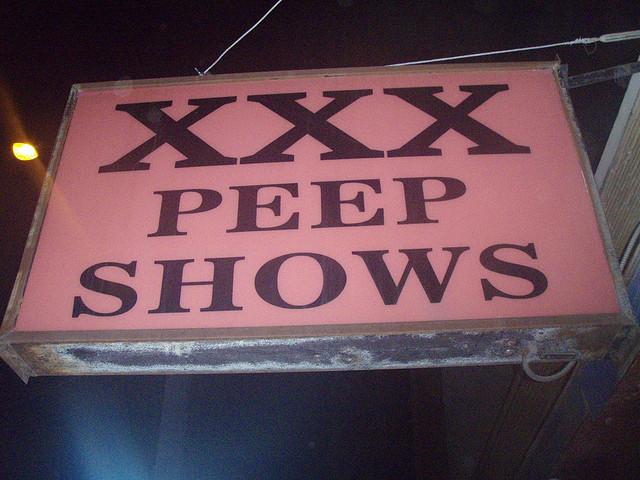 porn sex xxx peep show