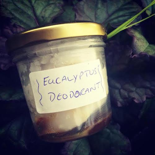 author's own deodorant