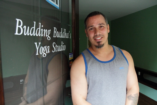 yoga studio owner