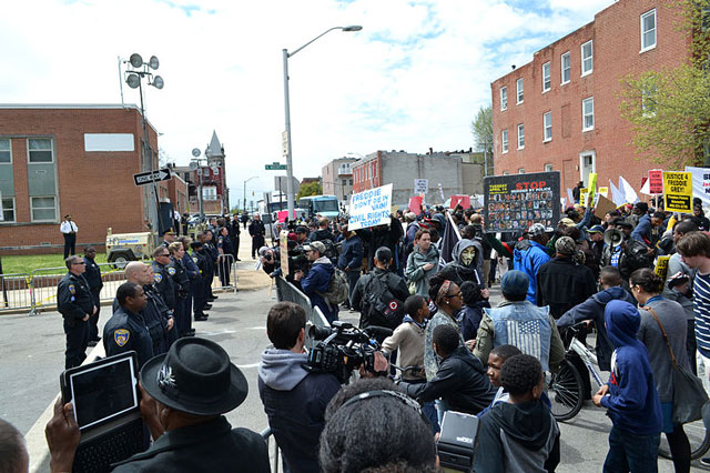 Freddie Gray protests Baltimore