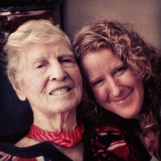 Ravyn and grandma