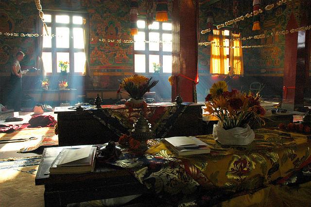 Tibet monestary Nepal