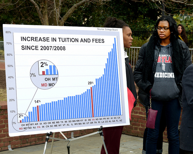 increase in tuition