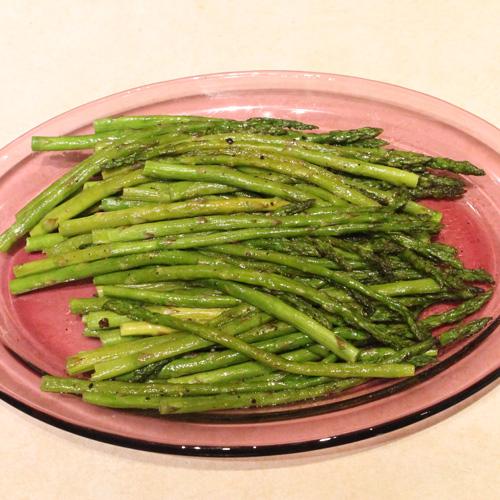 small asparagus
