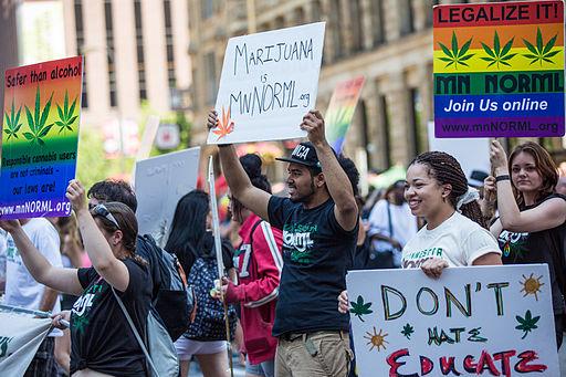 pot marijuanna legalize protest