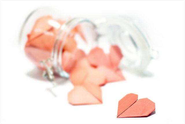 heart jar gratitude