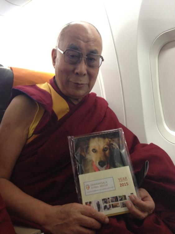 Dalai Lama and DAR Calendar