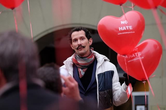 DSCF6205, No Hate Speech Movement, Flickr Commons