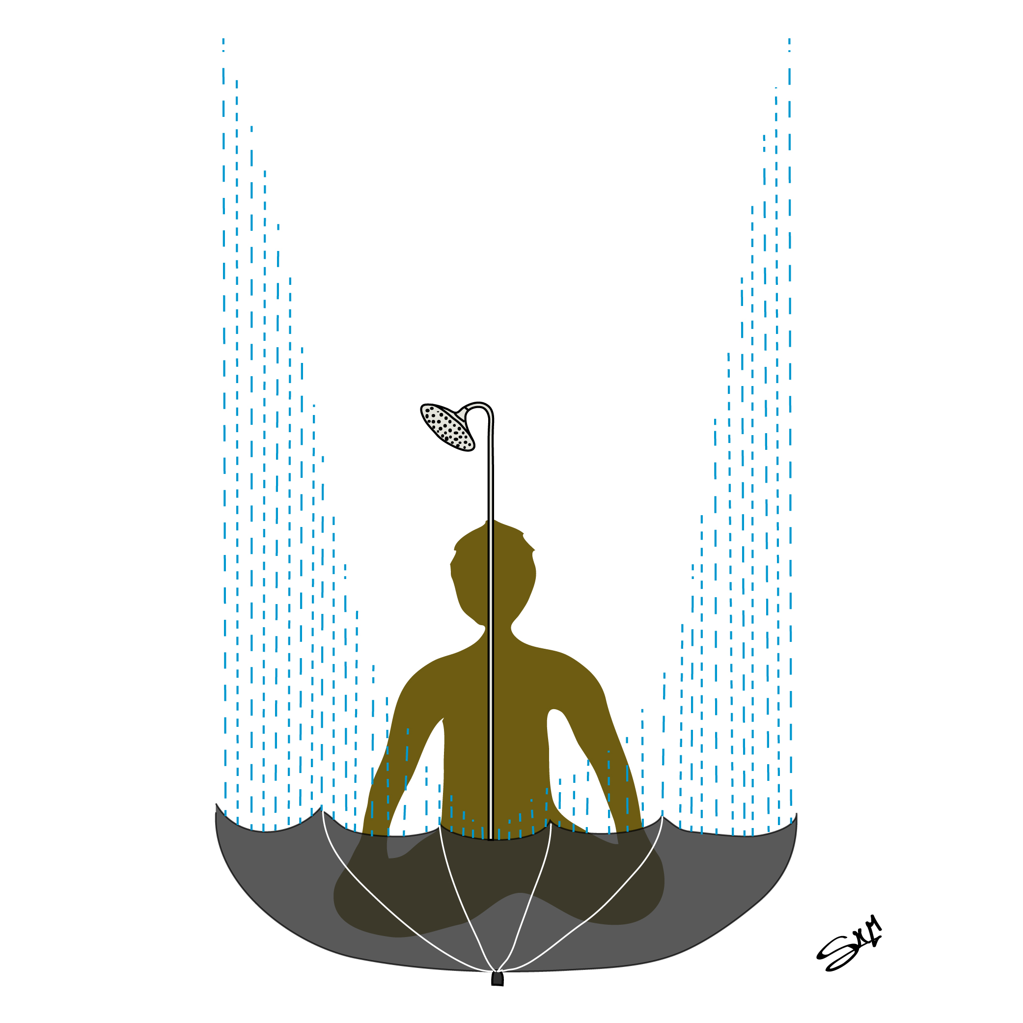 Shower Illustration-Santiago Martinez-01
