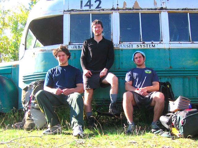 bus camping