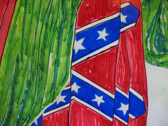 Fly On The Wall Africa At Xenophobia Crossroads: I Painted A Confederate Flag On My Bedroom Wall & I'm Not