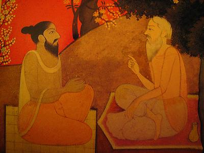 satsang master disciple