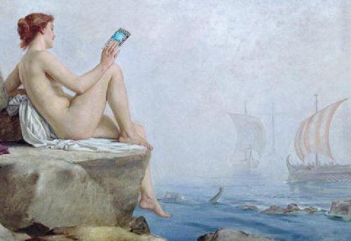 Siren texting sailors, sexting