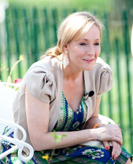 """J. K. Rowling 2010"" by Daniel Ogren. Licensed under CC BY 2.0 via Wikimedia Commons - https://commons.wikimedia.org/wiki/File:J._K._Rowling_2010.jpg#/media/File:J._K._Rowling_2010.jpg"