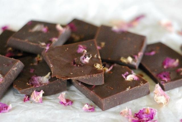 Rose Petal Chocolate