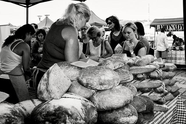 """At the farmers market"", Petr Dosek, Flickr"