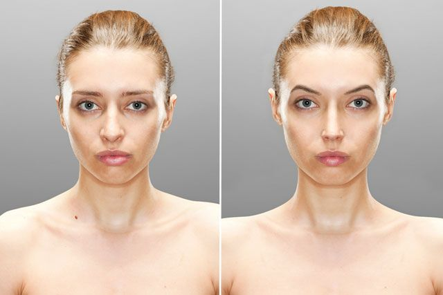 How Our Brains Wish We Looked Before After Photos