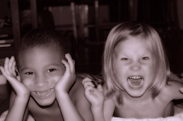 interracial kids, friends