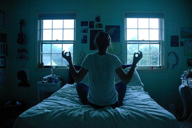 meditation bed